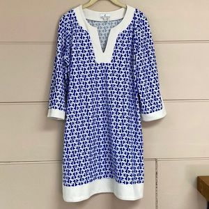 Jude Connally Link Printed Stretch Dress